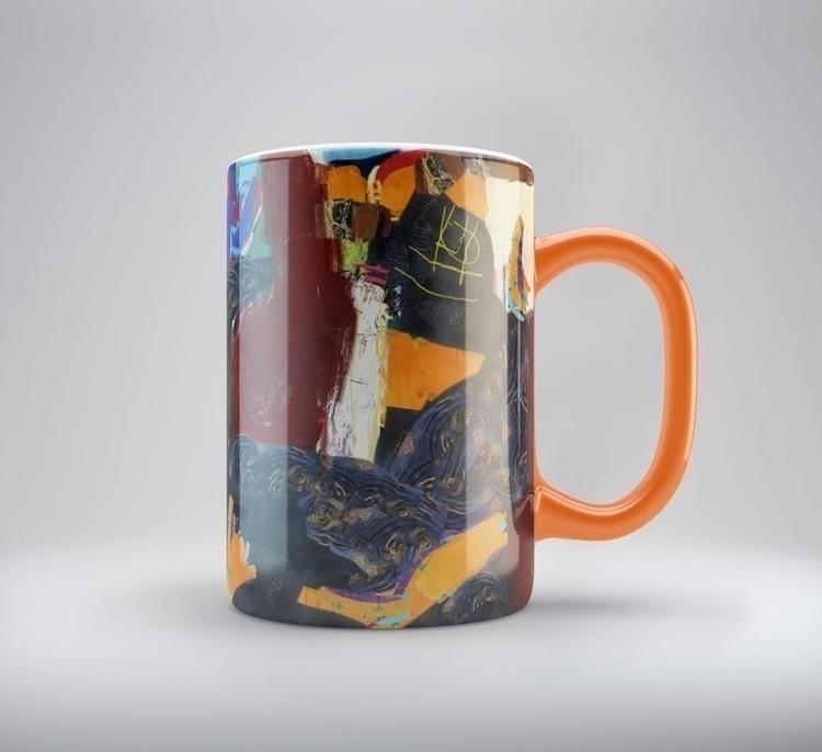 Digital painting serial cups - cup - kustokusto | ello