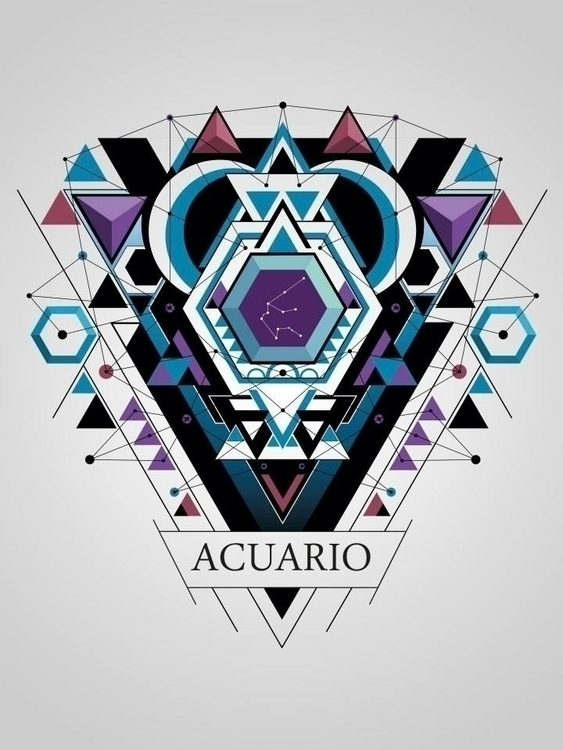 acuario - graphicdesign, digitalart - juanco-1165 | ello