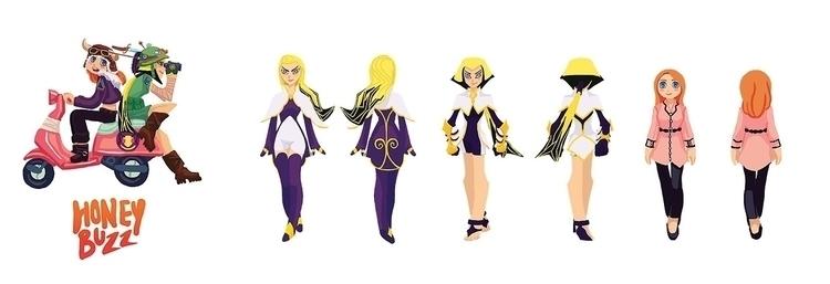 Daphne, Mina, Veronica Macaroon - anndorphin   ello