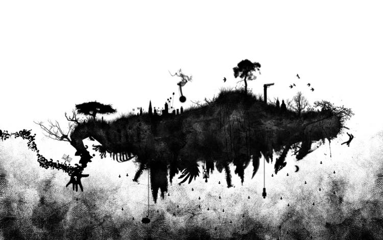 première île - illustration - entropie-1385   ello