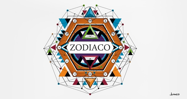 Zodiac - illustration, digitalart - juanco-1165 | ello