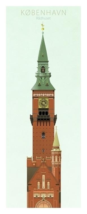 Rådhuset - illustration, design - do-6747 | ello