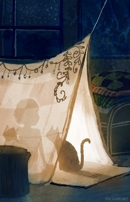 Dream Fort - kidlit, cat - emcguire | ello