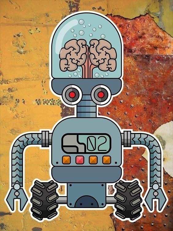robots - illustration, characterdesign - ans-9428 | ello