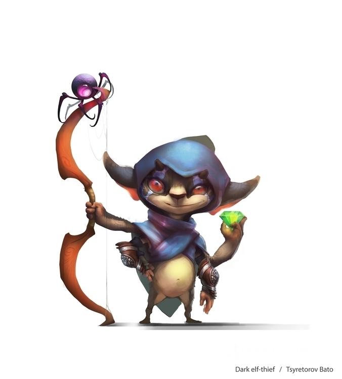 playable hero - elf - khlaalu   ello