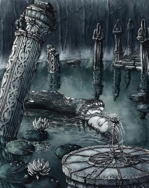 Fantasy Pond - fantasy, mystery - grimdream | ello