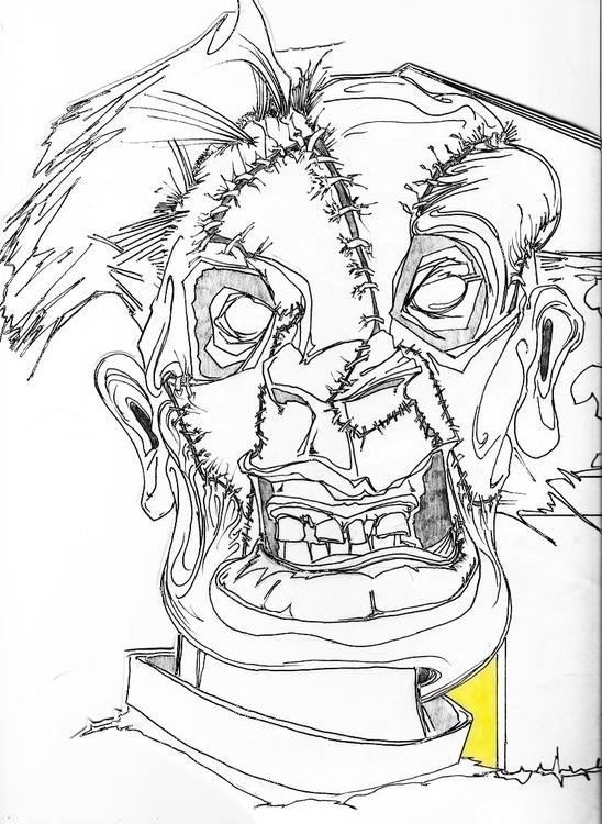 Leatherface. part larger piece - jason_robins | ello