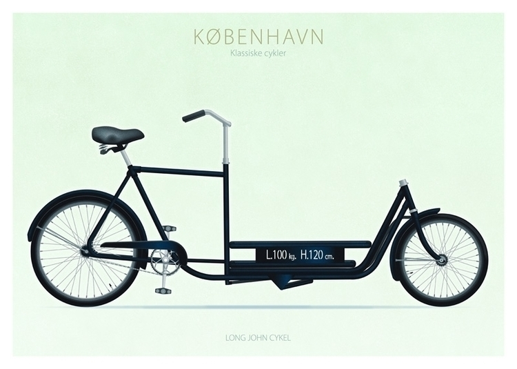 Long John Cykel - illustration - do-6747 | ello
