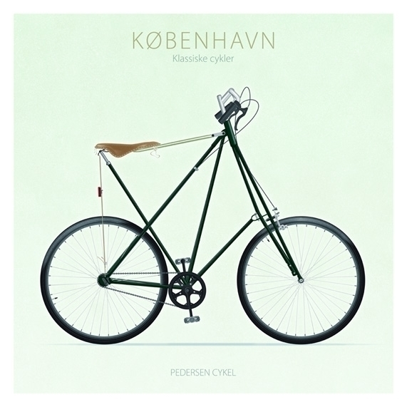 Pedersen Cykel - illustration - do-6747 | ello