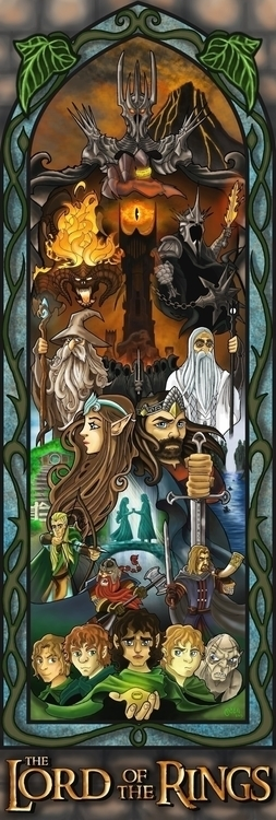 Lord Rings - Thelordoftherings, Thehobbit - justinoden | ello