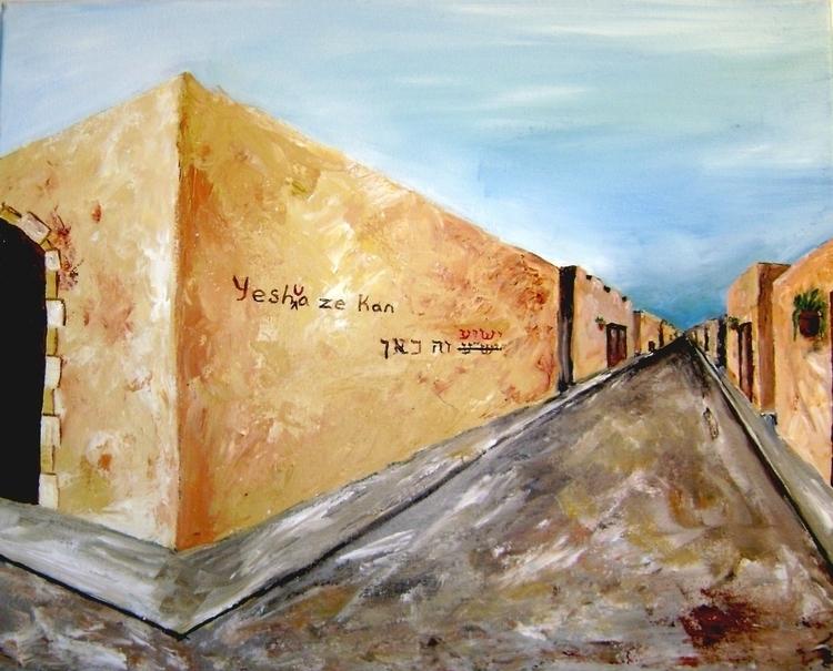 Yesha Ze Kan (pro palestinian s - willrainier | ello