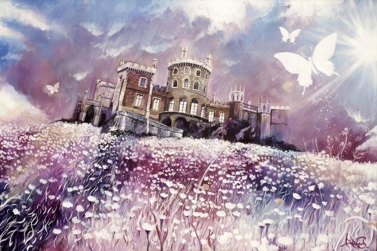 Beautiful View - painting - elasticcanvas | ello