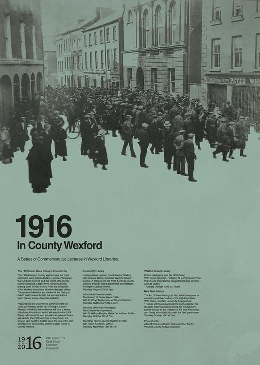1916 County Wexford - graphicdesign - brian77-7971 | ello