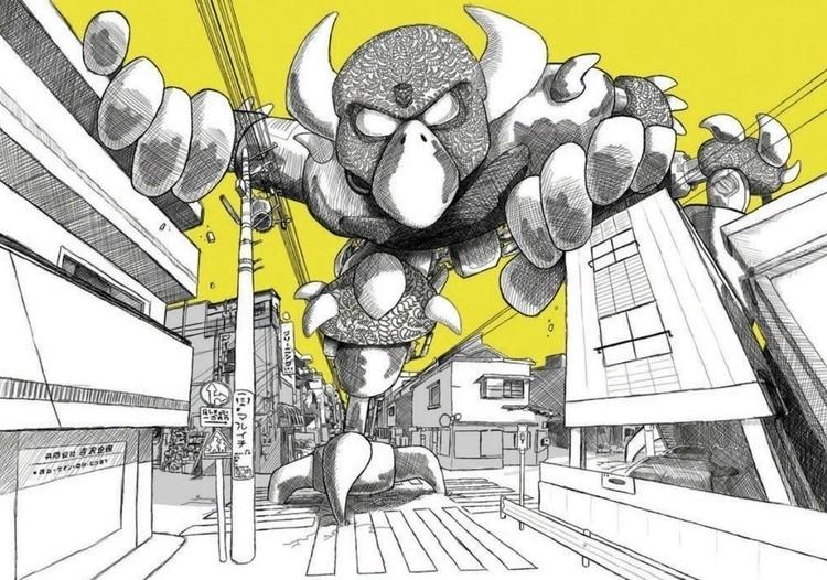 Tonic - penink, digitalart, Tokyo - upstartthunder | ello