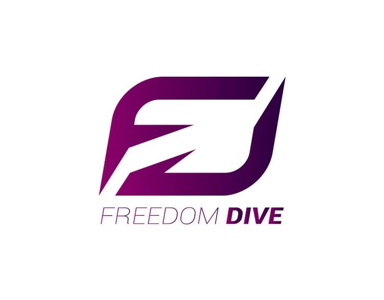 Freedom Dive - logo, esport, brandidentity - jrobald | ello