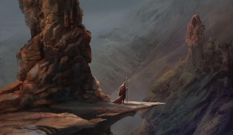 Red Wizard - fantasy, illustration - stijn-2389 | ello