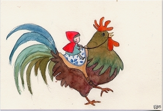 Rooster Rider - yearoftherooster - serenedaoud | ello