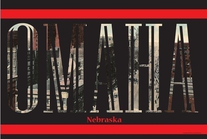 Omaha Postcard Letters - typography - brianmoore-7141 | ello