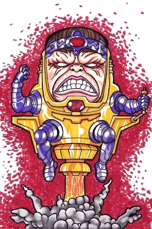 MODOK - Modok, Marvel, Comics - justinoden | ello