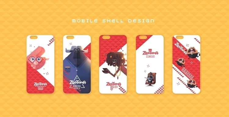 ZOOTOPIA - mobile shell design - cynthiaxing | ello