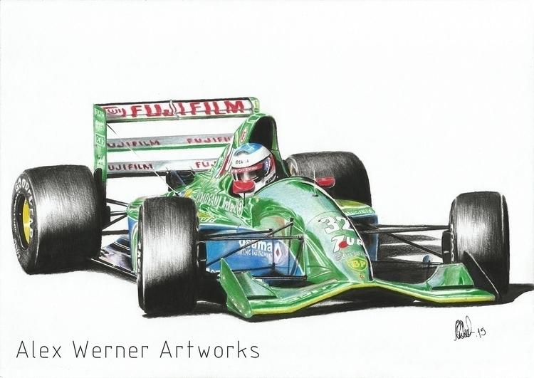 Michael Shumacher Jordan 1991 S - aalexwerner | ello