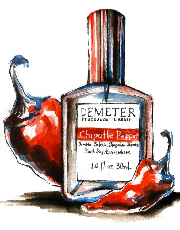 illustration, painting, watercolor - annagosteva | ello