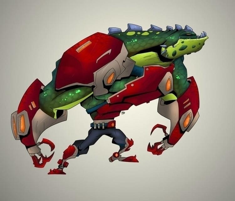 Grank space marine - character, illustration - kelts-7159   ello
