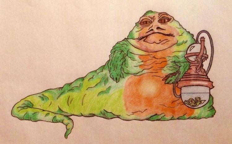 Jabba Hutt - starwars, jabbathehutt - justinoden | ello