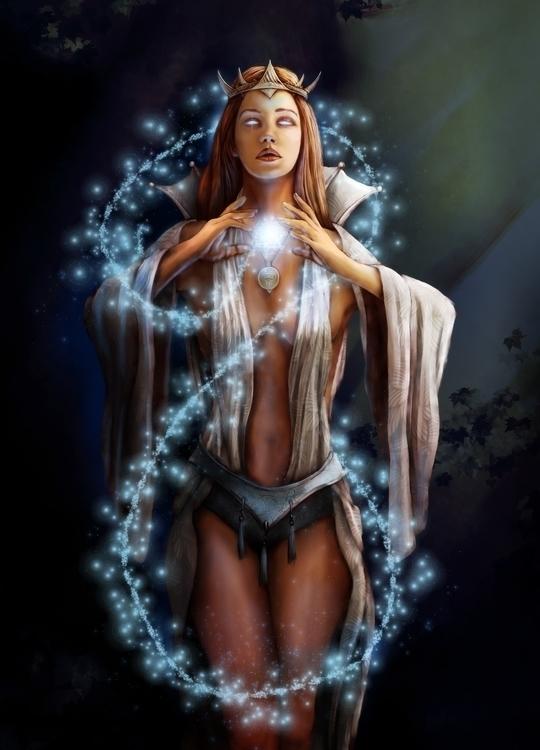 Witch Nature. free personal ill - pablocazorla | ello