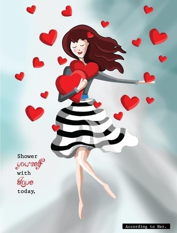 Love  - illustration, painting, characterdesign - christinavra | ello