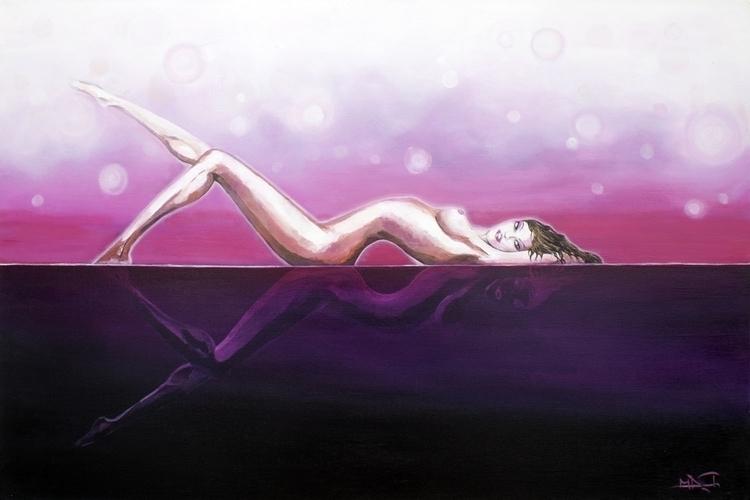 Madame Hollywood - painting - elasticcanvas | ello