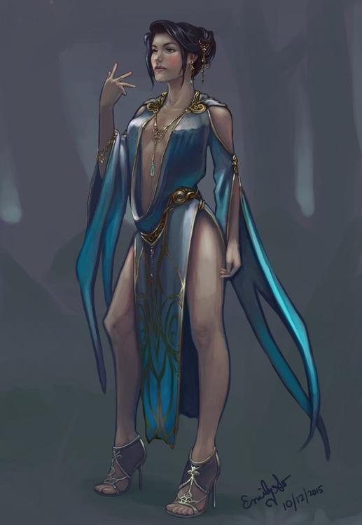 character design, costume conce - emilyso321 | ello
