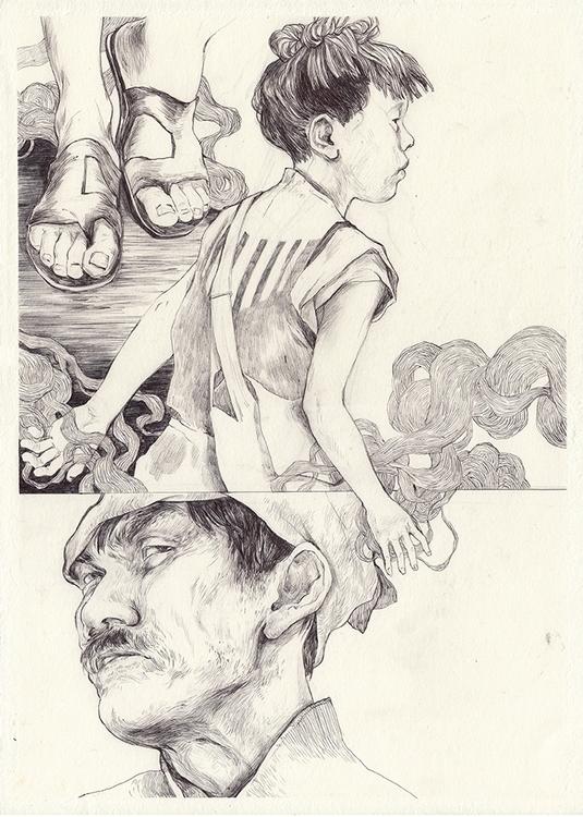 illustration, ballpen, drawing - thomke-9244   ello