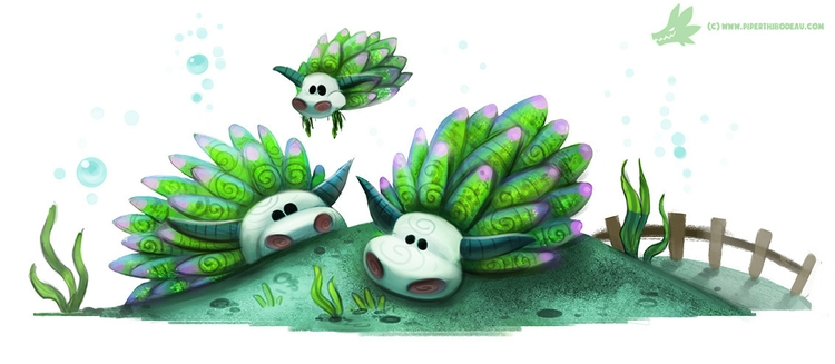 Daily Paint real animal - 1027. - piperthibodeau | ello