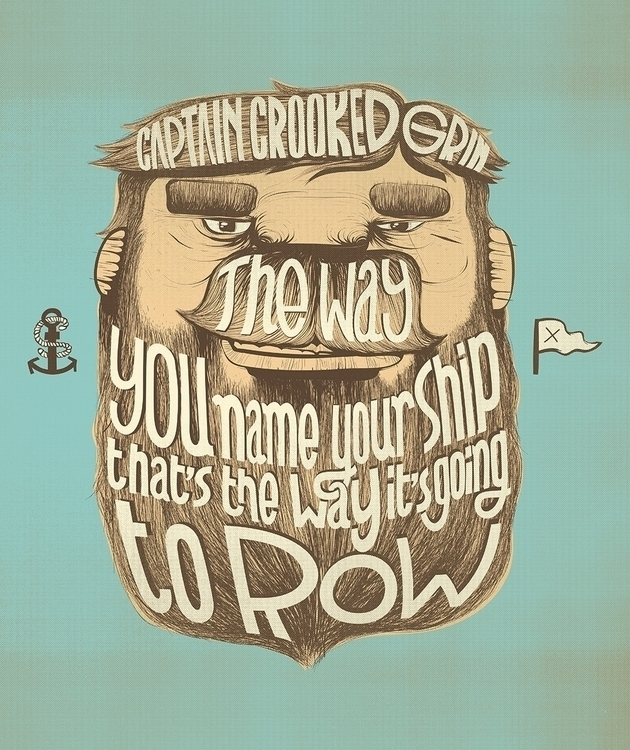 Captain Crooked Grin - art, illustration - caiobeltrao | ello