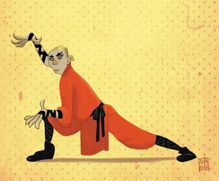 #shaolinmonk#characterdesign - ainaalbi | ello