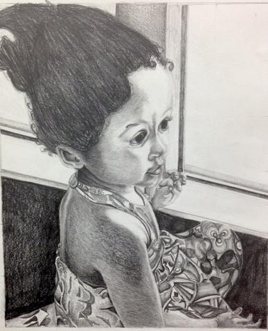 daughter - drawing - tracieclaflinbryant | ello