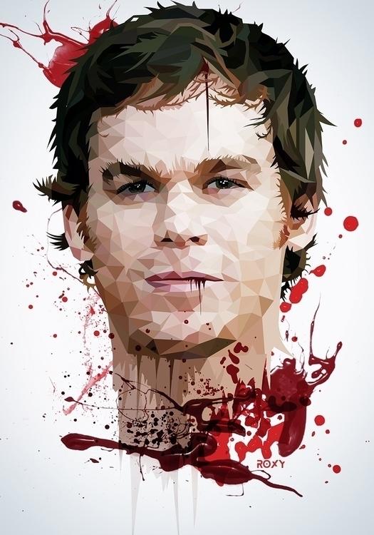 Dexter - dexter, tvshow, blood, bloody - roxycolor | ello