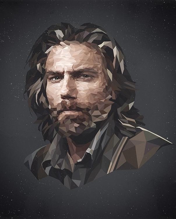 Cullen Bohannon - illustration, bohannon - roxycolor | ello