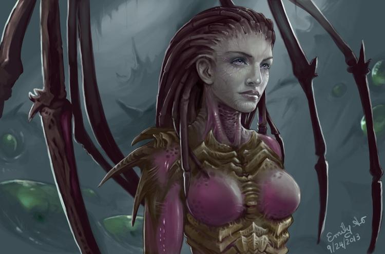 StarCraft II fan art - fanart, starcraft - emilyso321 | ello
