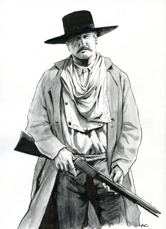 John Wesley - penink, drawing, pentel - andrewcherry | ello