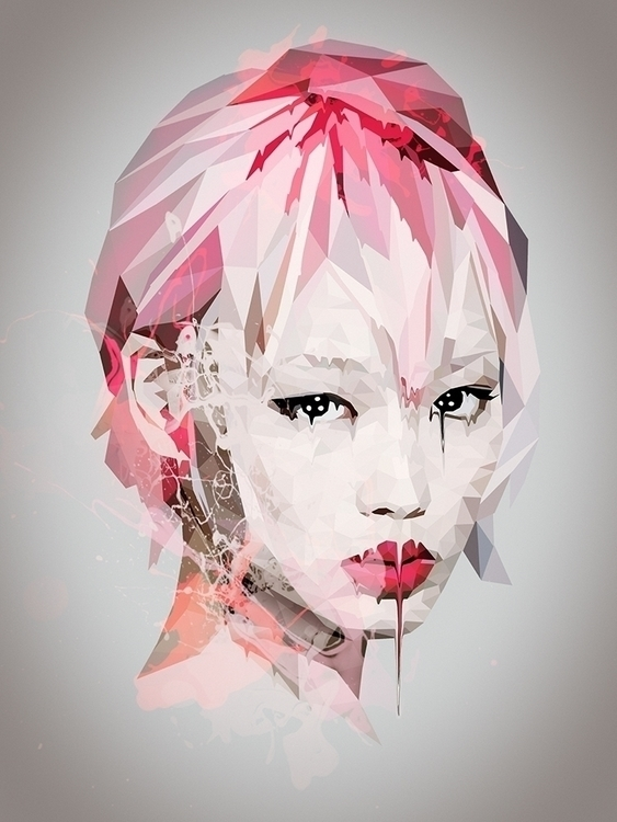 Pink Beauty - pink, girl, woman - roxycolor   ello