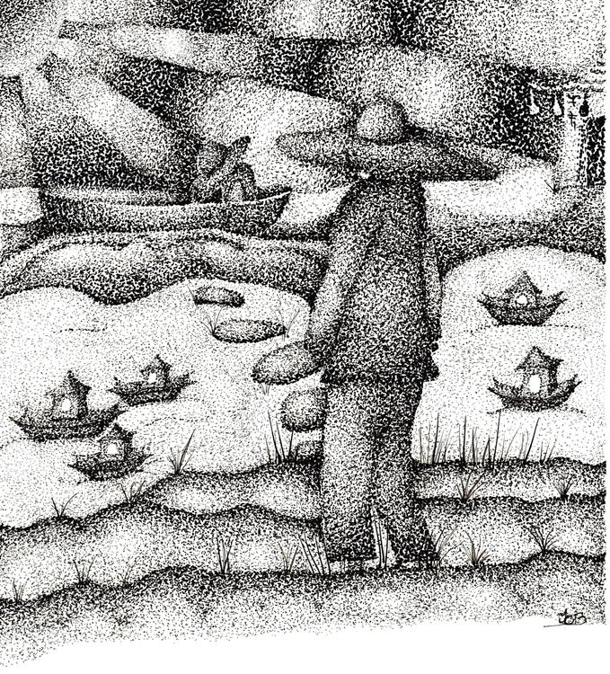 set sail - drawing, illustration - tracieclaflinbryant | ello