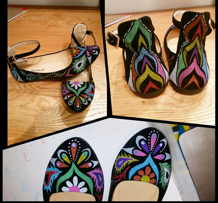 shoes, flats, anklestrap, womens - marysheaffer | ello