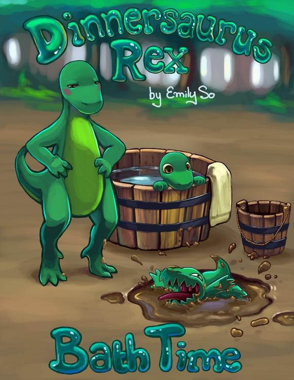 Dinnersaurus comics - comic, illustration - emilyso321 | ello