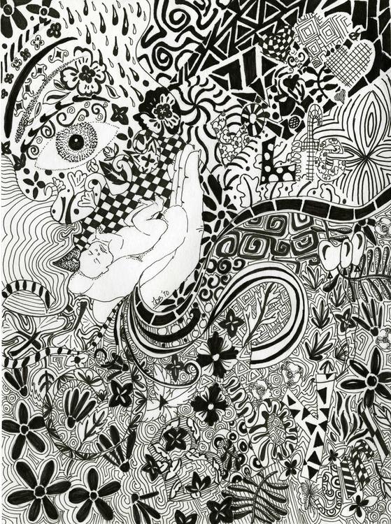 Hidden images - illustration - tracieclaflinbryant | ello