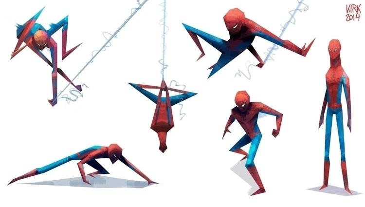 friendly neighborhood Spider-Ma - kirkparrish | ello