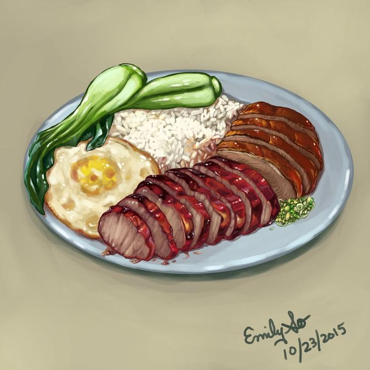 food illustration, personal pro - emilyso321 | ello