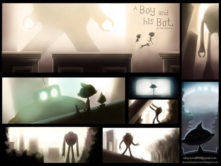 Boy Bot. children book story de - natehaywood | ello