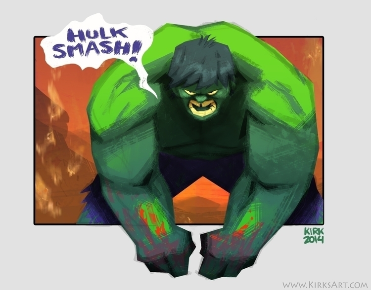 Hulk - incredible, hulk, marvel - kirkparrish | ello